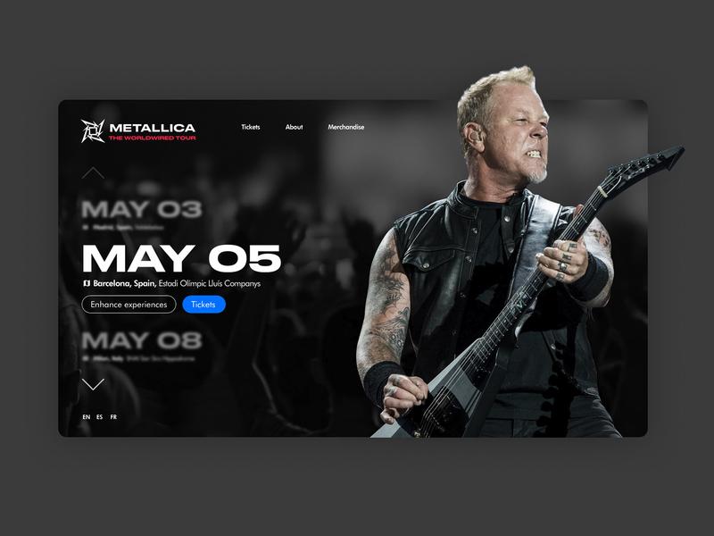 Metallica's Worldwired Tour concept