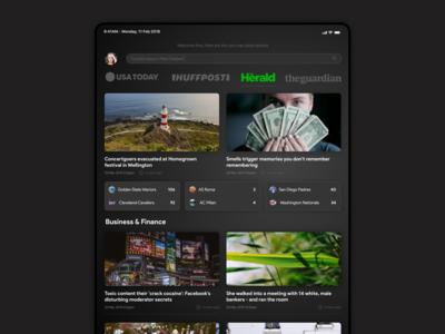 News Subscription Concept