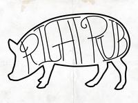 Right Rub logo