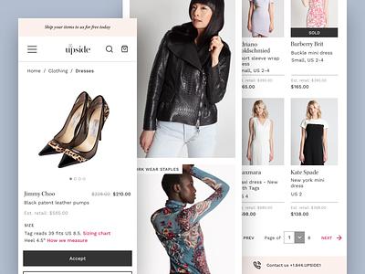 The Upside UX Design responsive website design web ux design ecommerce design