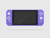 Purple Nintendo Switch