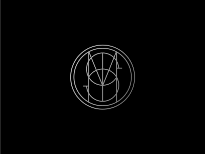SMD type lettering monogram mark logotype chicago illustration simplicity minimal branding logo icon