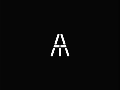 ATM Symbol architecture geometry brand icon mark minimalism simplicity branding logo design