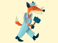 Railroad fox