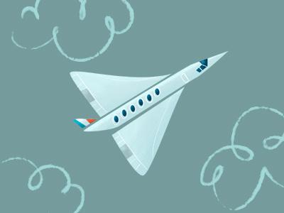 Concorde concorde airplane aircraft