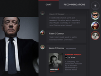 Netflix Hack Day 2014 - Watch With Friends - Chat Interface