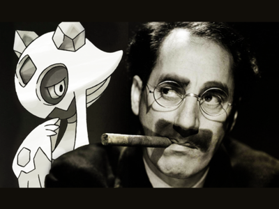 Groucho Marx and his Froslass, 1941