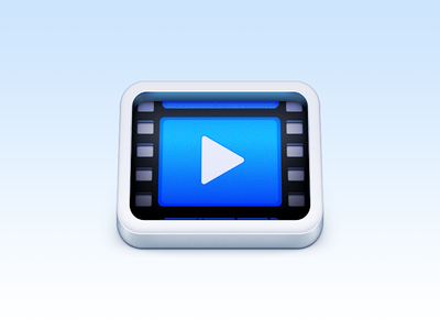 Video Player icon film movie player video video player