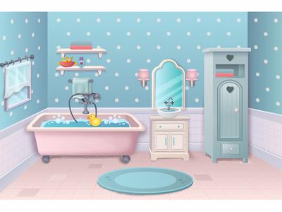 Bathroom interior design game room bathroom