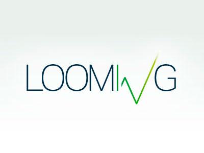 LoomingLogo logo stock market