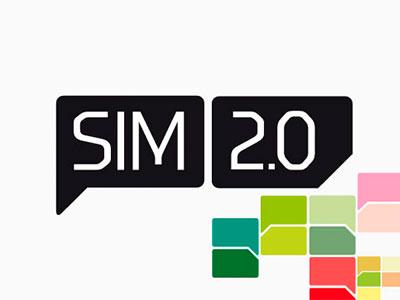 Sim 2.0 wip concepto logo