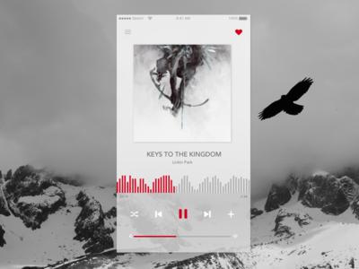 DailyUi 009 - Music Player