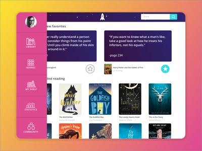 Digital Library Main Screen