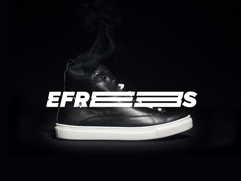 Efrees Shoes Identity identity motion graphics video website shoes art direction branding design black logo