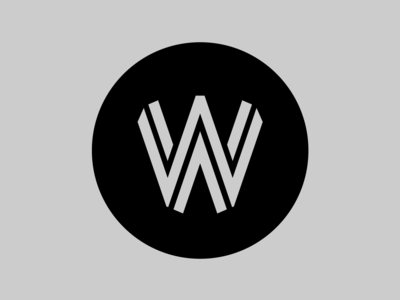 Werk36 Logo w logotype lettering monogram logo