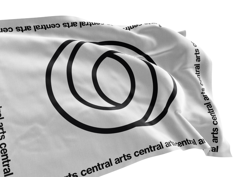 Central Arts Logo typography soda logotype logo art branding