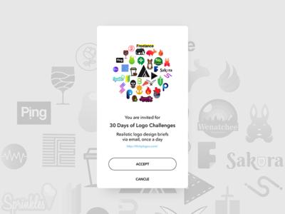 Pending Invitation - Daily UI challenge 078