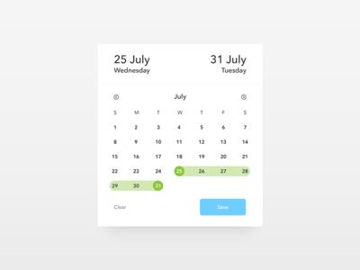Date Picker - Daily UI challenge 080