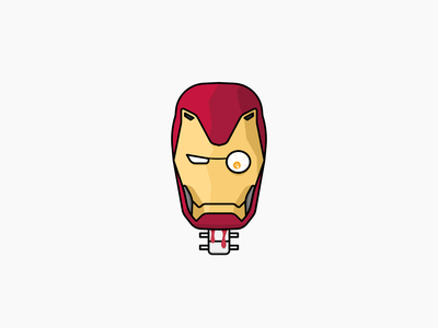 Iron Man marvel monster design halloween vector illustration ironman spooktober