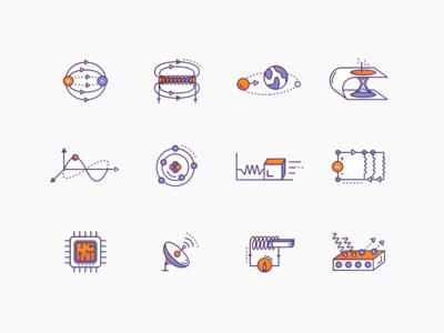 Physics Icons #1