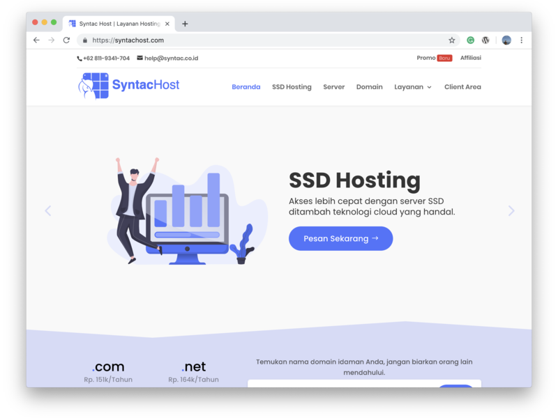 Hosting Website Design