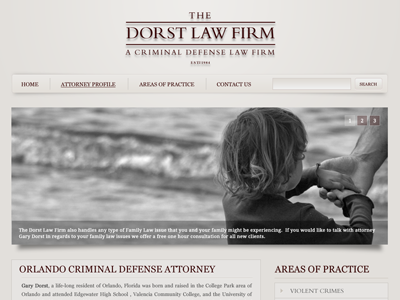 Dorst Law Firm Mockup law firm mockup concept dorst law