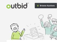 Outbid.com Concept/Redesign (Unofficial)