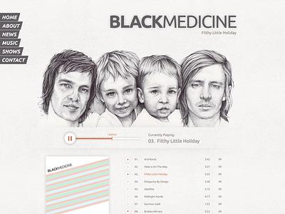 Black Medicine Band Page black medicine cd release site band music