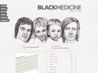 Black Medicine Band Page
