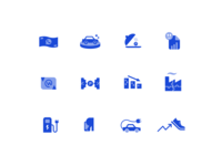 Icons for stories. Set 2.