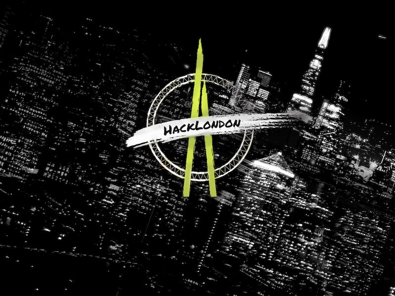HackLondon 2016 Logo photography tech illustrator logo photoshop london hackathon