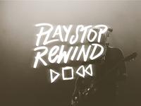 Play Stop Rewind Band Logo