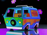 Mystery Machine 3d modeling design 3d motiondesign animation aftereffects