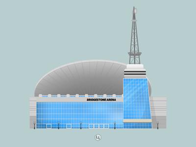 Bridgestone Arena - Nashville Predators