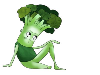 Broccoli characters