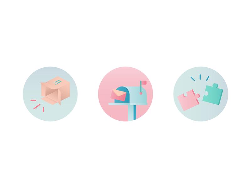 Maiia branding - circles part 1
