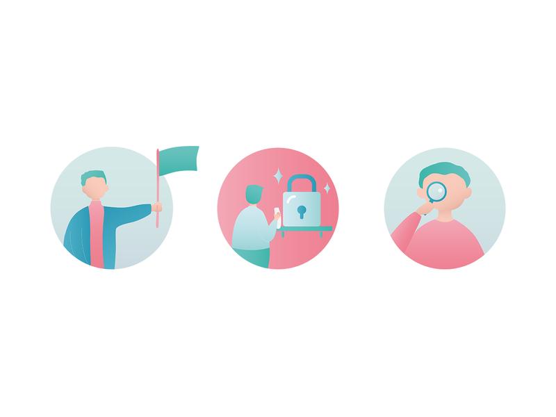 Maiia branding - circles part 2