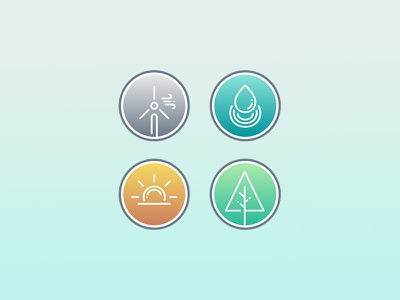 energies clean energy crypto crypto currency blockchain bitcoin school project wood water solar icons energies