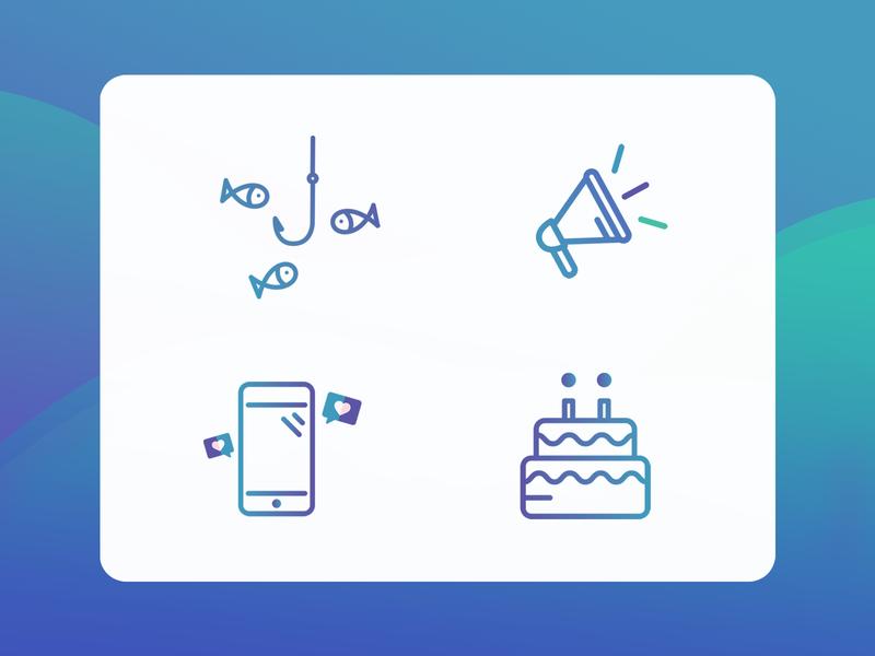 key milestones icons