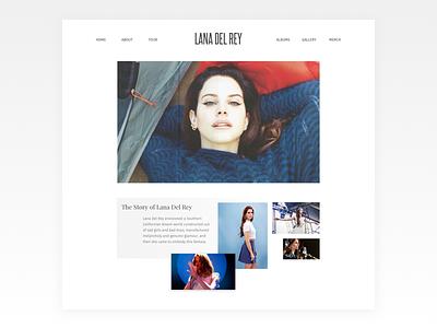 Lana Del Rey Artist Profile band music artist profile web