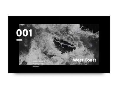 Video Portfolio | Navigation Exploration exploration motion animation minimal