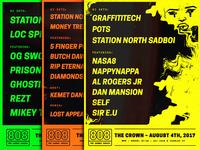 808 - The Sadboi Series posters.