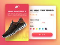 Nike Airmax Card