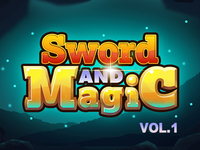 Sword and Magic VOL.1 & 1x Dribbble Invite