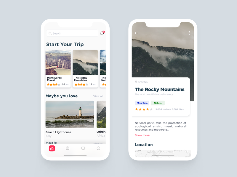 Travel Apps design design app travel app app ui