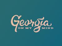 Georgia On My Mind - pt.2