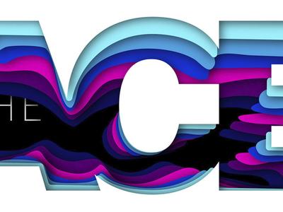 Detail illusion depth graphic design color detail typography paper vector layers branding illustration design