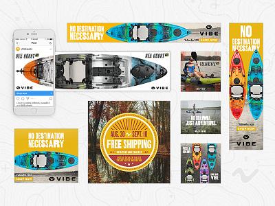 Vibe - Digital Marketing adventure atlanta kayaks vibe branding advertising banners email social marketing digital
