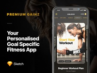 Premium Gainz - Fitness App