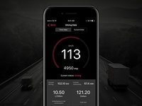 Mobile CRM - Data Tracking For Drivers